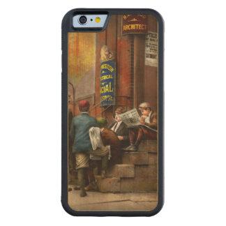 Coque Pare-chocs En Érable iPhone 6 Enfants - matin rencontrant 1910