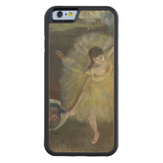 Coque Pare-chocs En Érable iPhone 6 Fin d'Edgar Degas | d'un arabesque, 1877