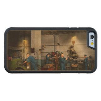 Coque Pare-chocs En Érable iPhone 6 Garage - mécanicien - la révision 1919