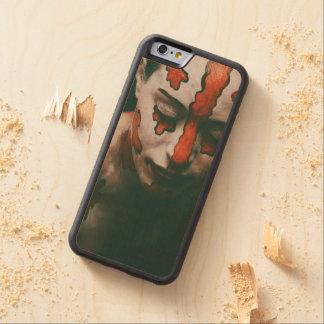 Coque Pare-chocs En Érable iPhone 6 Madame des larmes cramoisies