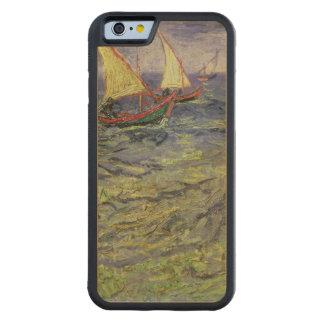 Coque Pare-chocs En Érable iPhone 6 Paysage marin de Vincent van Gogh | chez