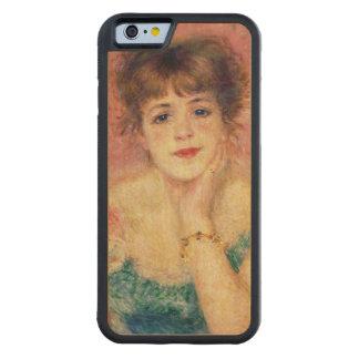 Coque Pare-chocs En Érable iPhone 6 Pierre un portrait de Renoir   de Jeanne Samary