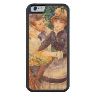 Coque Pare-chocs En Érable iPhone 6 Pierre un Renoir   dans le jardin