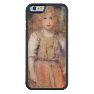 Coque Pare-chocs En Érable iPhone 6 Pierre une fille gitane de Renoir |