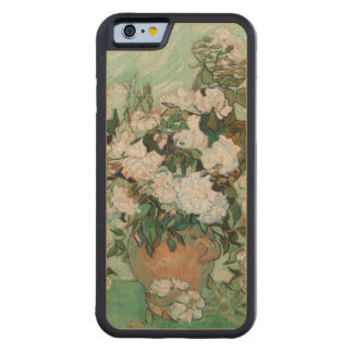 Coque Pare-chocs En Érable iPhone 6 Roses de Vincent van Gogh |, 1890