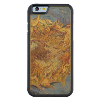 Coque Pare-chocs En Érable iPhone 6 Tournesols de Vincent van Gogh |, 1887