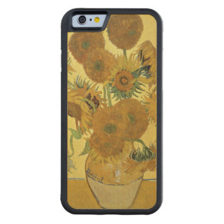 Coque Pare-chocs En Érable iPhone 6 Tournesols de Vincent van Gogh |, 1888