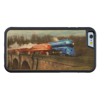 Coque Pare-chocs En Érable iPhone 6 Train - rétro - rencontrez les Royals 1938