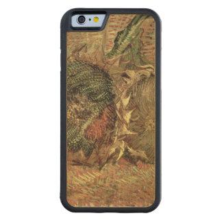 Coque Pare-chocs En Érable iPhone 6 Vincent van Gogh | deux tournesols coupés, 1887