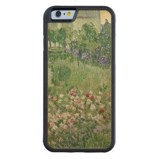 Coque Pare-chocs En Érable iPhone 6 Vincent van Gogh jardin de | Daubigny, 1890