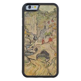 Coque Pare-chocs En Érable iPhone 6 Vincent van Gogh | le ravin du Peyroulets