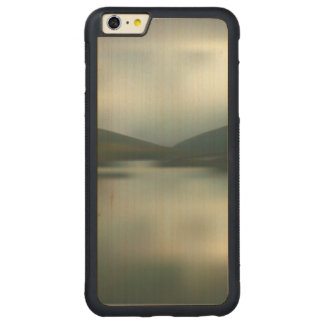 Coque Pare-chocs Mince En Érable iPhone 6 Plus Lac dans les montagnes
