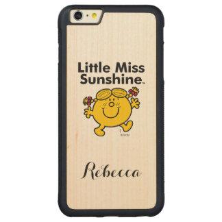 Coque Pare-chocs Mince En Érable iPhone 6 Plus Petite petite Mlle Sunshine de la Mlle   est un