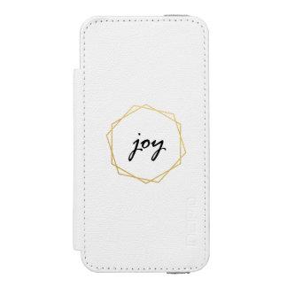 Coque-portefeuille iPhone 5 Incipio Watson™ Cadeau géométrique de caisse de portefeuille de