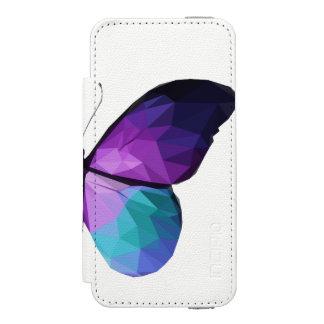 Coque-portefeuille iPhone 5 Incipio Watson™ Caisse de portefeuille de téléphone de papillon