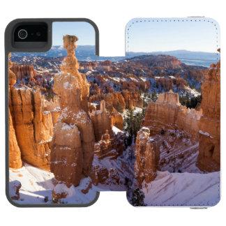 Coque-portefeuille iPhone 5 Incipio Watson™ Canyon de Bryce, le marteau du Thor