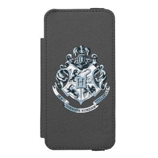 Coque-portefeuille iPhone 5 Incipio Watson™ Crête de Harry Potter | Hogwarts - bleu