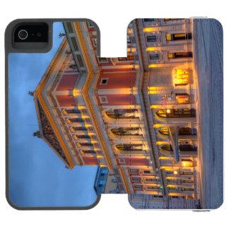 Coque-portefeuille iPhone 5 Incipio Watson™ Grand hall de saucisse Musikverein, Vienne,