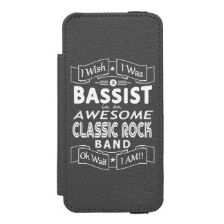 Coque-portefeuille iPhone 5 Incipio Watson™ Groupe de rock classique impressionnant de