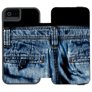 Coque-portefeuille iPhone 5 Incipio Watson™ Jeans - AINSI COOL
