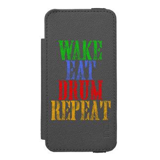 Coque-portefeuille iPhone 5 Incipio Watson™ Le sillage mangent la répétition de TAMBOUR