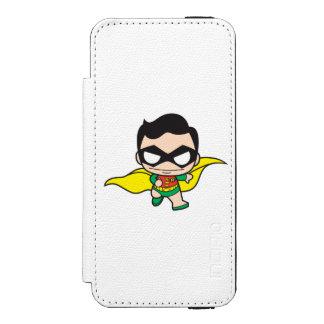 Coque-portefeuille iPhone 5 Incipio Watson™ Mini Robin