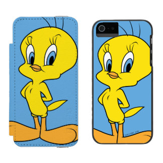 Coque-portefeuille iPhone 5 Incipio Watson™ Oiseau intelligent de TWEETY™ |