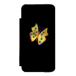 Coque-portefeuille iPhone 5 Incipio Watson™ Papillon