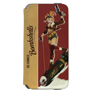 Coque-portefeuille iPhone 6 Incipio Watson™ Bombes de Harley Quinn de pin-up