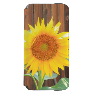 Coque-portefeuille iPhone 6 Incipio Watson™ Caisse de portefeuille de l'iPhone 6 de tournesol