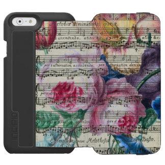 Coque-portefeuille iPhone 6 Incipio Watson™ Chansons florales