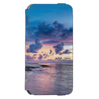 Coque-portefeuille iPhone 6 Incipio Watson™ Coucher du soleil tropical de plage