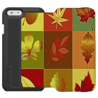 Coque-portefeuille iPhone 6 Incipio Watson™ Couleurs en automne