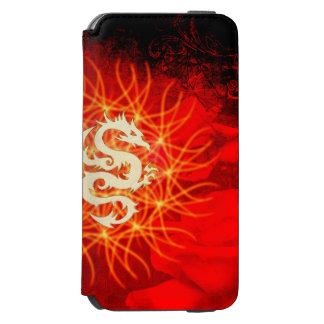 Coque-portefeuille iPhone 6 Incipio Watson™ Dragon d'or merveilleux