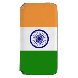 Coque-portefeuille iPhone 6 Incipio Watson™ Drapeau de l'Inde