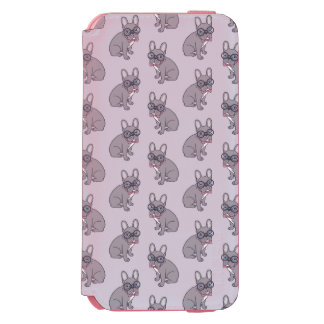 Coque-portefeuille iPhone 6 Incipio Watson™ Étreignez-moi, les besoins lilas mignons de