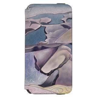 Coque-portefeuille iPhone 6 Incipio Watson™ Illustration d'une plate-forme de roche et des