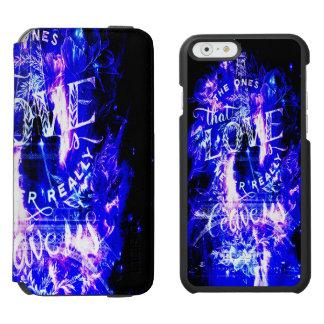 Coque-portefeuille iPhone 6 Incipio Watson™ Le saphir Paris d'améthyste rêve ceux qui aiment