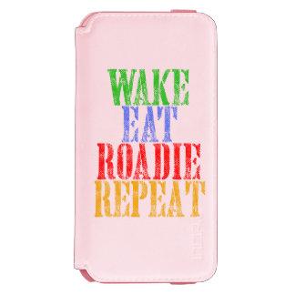 Coque-portefeuille iPhone 6 Incipio Watson™ Le sillage mangent la répétition de ROADIE