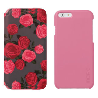 Coque-portefeuille iPhone 6 Incipio Watson™ Les roses sont. rose rouge de .and