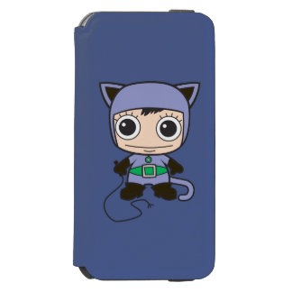 Coque-portefeuille iPhone 6 Incipio Watson™ Mini femme de chat