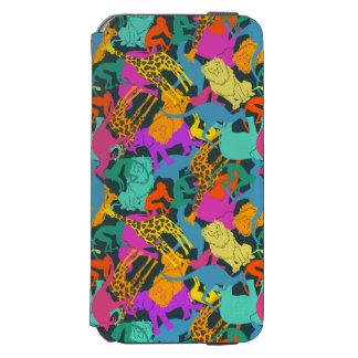 Coque-portefeuille iPhone 6 Incipio Watson™ Motif animal de silhouettes
