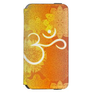 Coque-portefeuille iPhone 6 Incipio Watson™ Motif indien d'ornement avec le symbole d'ohm