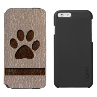 Coque-portefeuille iPhone 6 Incipio Watson™ Patte simili cuir molle