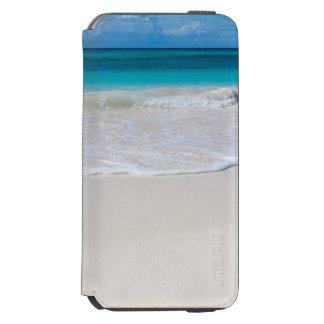 Coque-portefeuille iPhone 6 Incipio Watson™ Plage et mer tropicales blanches