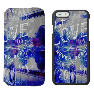 Coque-portefeuille iPhone 6 Incipio Watson™ Pont des rêves de l'amant à celui qui nous aiment