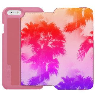 Coque-portefeuille iPhone 6 Incipio Watson™ Portefeuille de téléphone de palmiers