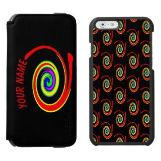 Coque-portefeuille iPhone 6 Incipio Watson™ Remous multicolore. Ajoutez votre texte