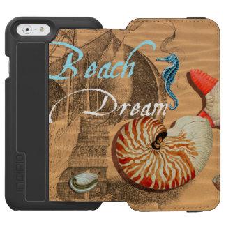 Coque-portefeuille iPhone 6 Incipio Watson™ Rêve de plage