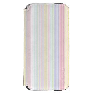 Coque-portefeuille iPhone 6 Incipio Watson™ Rêve heureux - rayure colorée élégante